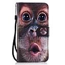 Buy Huawei P8 lite 2017 Mate9 Card Holder Wallet Stand Flip Pattern Case Full Body Oranguta Hard PU Leather Honor 5C 7 8 Y5II Y6 II Y560