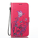 Buy Huawei P8 Lite (2017) P10 Case Cover Butterfly Flowers Pattern PU Material Card Stent Wallet Phone Honor 8 P9