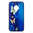 Buy Moto G5 Plus Case Cover Butterfly Pattern Painted Embossed Feel TPU Soft Phone