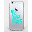 Buy Case iPhone 7 Plus 6 Word / Phrase Pattern Phone Soft Shell 6/6s 5 5s SE