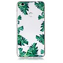 Buy Case Huawei P10 Lite Cover Green Leaves Pattern Feel Varnish Relief High Penetration TPU Material Phone P8 (2017)