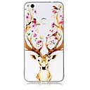 Buy Case Huawei P10 Lite Cover Deer Head Pattern Feel Varnish Relief High Penetration TPU Material Phone P8 (2017)