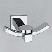 """YALI.M®,목욕 가운 후크 크롬 40 x 77 x 72mm (1.7"""" x 3.24"""" x 3.0"""") 황동 현대"""