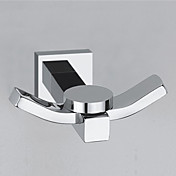 "YALI.M®,Gancho para Albornoz Cromo 40 x 77 x 72mm (1.7"" x 3.24"" x 3.0"") Latón Contemporáneo"