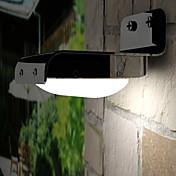 16x3528SMD 화이트 라이트 LED 태양 빛 모션 센서 PIR 벽 마운트 정원 빛