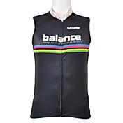 Kooplus 남성용 민소매 자전거 조끼 탑스 빠른 드라이 전면 지퍼 착용 가능한 통기성 100% 폴리에스터 봄 여름 사이클링/자전거