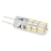 g4 1.5w 24xsmd condotto 100lm luce bianca naturale della lampadina del cereale (12v)