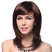 선택하는 상위 학년의 품질 합성 스트레이트 갈색 머리 가발 다섯 색상