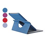 diamantes que giran la caja de cuero de la PU w / stand para iPad Mini 3, Mini iPad 2, iPad mini (colores surtidos)
