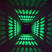 3 집적 LED 모던/콘템포라리 일렉트로플레이티드 특색 for LED 전구 포함,주변 라이트 벽 빛