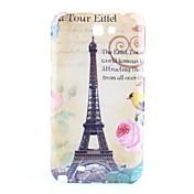 삼성 갤럭시 주 2 N7100를위한 에펠 탑 (Eiffel Tower) 패턴 하드 케이스