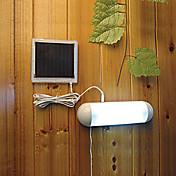 5 LED 실내 옥외 백색 빛은 태양 강화 된위원회 정원 스위치 램프 야드 빛을 뿌리 LED