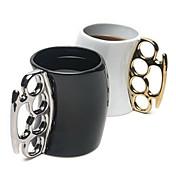 창조적 인 세라믹 주먹 컵 잔의 색상이 무작위로 보내 새로운 스타일