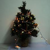 크리스마스 할로윈 축제 훈장 (220V)에 대한 확장 케이블 커넥터 10M 6W 100 LED 황색 LED 지구 빛
