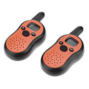 FRS / GMRS T2101 5KM 8 canales de walkie talkie conjunto (1 par) radio de dos vías con