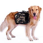 개 배낭 강아지 의류 스포츠 위장 그린