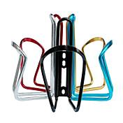 자전거 물 병 케이지 사이클링 퍼플 / 은의 / 레드 / 블랙 / 블루 / 노란색 알루미늄 합금Acacia