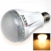 7W E26/E27 LED 글로브 전구 27 SMD 2835 600 lm lm 따뜻한 화이트 AC 85-265 V