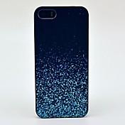 estuche rígido de la noche brillante patrón de brillo para el iphone 4 / 4s