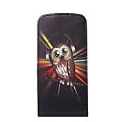 용 아이폰6케이스 / 아이폰6플러스 케이스 카드 홀더 / 플립 케이스 풀 바디 케이스 부엉이 하드 인조 가죽 iPhone 6s Plus/6 Plus / iPhone 6s/6