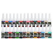 dragonhawk® 문신 공급 잉크 안료 세트 28 색 5 ㎖