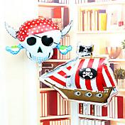 두개골 해적 해적 알루미늄 막 생일 파티의 모든 성자의 일 만성 풍선 세트