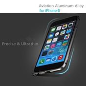 Para Funda iPhone 6 / Funda iPhone 6 Plus Diseños Funda Cubierta Trasera Funda Un Color Dura Metal iPhone 6s Plus/6 Plus / iPhone 6s/6