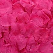 pétalos de rosa decoración de la mesa (color clasificado) (conjunto de 100 pétalos)