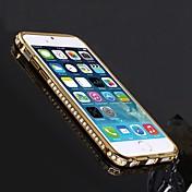 용 아이폰6케이스 / 아이폰6플러스 케이스 크리스탈 케이스 뒷면 커버 케이스 단색 하드 메탈 iPhone 6s Plus/6 Plus / iPhone 6s/6
