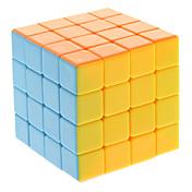 Qiji® 부드러운 속도 큐브 4*4*4 속도 / 전문가 수준 매직 큐브 무지개 안티 - 팝 / 조정 봄 ABS