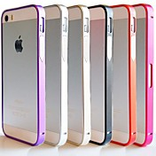 아이폰 4 / 4S에 대한 df® 울트라 얇은 07mm 금속 알루미늄 프레임 범퍼 (모듬 색상)