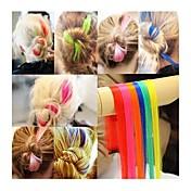 Punky 1pc colores fluorecent pedazo del pelo / perm&cortar factible