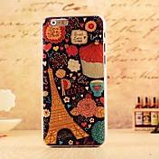 용 아이폰6케이스 / 아이폰6플러스 케이스 패턴 케이스 뒷면 커버 케이스 에펠탑 소프트 PC iPhone 6s Plus/6 Plus / iPhone 6s/6