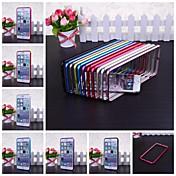 아이폰 6 플러스에 대한 wkae® 금속 범퍼 프레임 케이스 (모듬 색상)