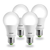 E26/E27 Bombillas LED de Globo G60 COB 560-630 lm Blanco Fresco AC 100-240 V 4 piezas