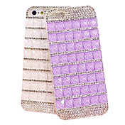 5.5 Inch  Profusion Colour  with Diamond Hard Back Cover  for iPhone 6 Plus (Assorted Colors)