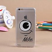 용 아이폰6케이스 / 아이폰6플러스 케이스 투명 케이스 뒷면 커버 케이스 카툰 소프트 TPU iPhone 6s Plus/6 Plus / iPhone 6s/6