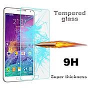 삼성 갤럭시 A3에 대한 huyshe 0.33mm의 2.5D 라운드 에지 9H 스크래치 방지 강화 유리 화면 보호기