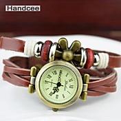 여성 - PU - 석영 - 손목 시계