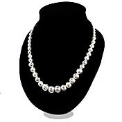 Mujer Collares de cadena Plata de ley Moda joyería de disfraz Joyas Para Fiesta Casual
