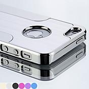 df patrón chapado en la cubierta del caso para el iphone 6 (color clasificado) de metal de nuevo