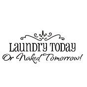 hoy lavandería o etiquetas de la pared cita mañana desnudos zooyoo8032 decorativos de vinilo removible pared pegatinas