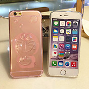 Para Funda iPhone 5 Transparente Funda Cubierta Trasera Funda Un Color Suave TPU iPhone SE/5s/5