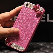 고급 블링 반짝이는 아이폰 6 다이아몬드 커버 케이스를 다시 bowknot 플러스 (모듬 색상)