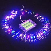 16.5 피트 (50)는 잠수정 와이어 배터리 전원 문자열 요정 라이트 파티 장식을 주도