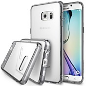 용 삼성 갤럭시 케이스 투명 케이스 뒷면 커버 케이스 단색 TPU Samsung S6 edge plus