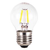 E26/E27 Bombillas LED de Globo G60 4 COB 300-350 lm Blanco Cálido AC 100-240 V 5 piezas