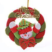 """8 """"guirnalda de la Navidad de Papá Noel colgando muñeco de nieve de Navidad decoración del árbol feliz"""