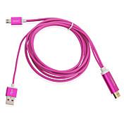 2m / 6피트 1080p의 마이크로 USB MHL은 갤럭시 S3 S4 주 2 3 케이블 어댑터 HDTV를 HDMI로