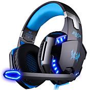 KOTION 각 G2000 해드폰 (헤드밴드)For컴퓨터With마이크 포함 / DJ / 볼륨 조절 / 게임 / 스포츠 / 소음제거 / Hi-Fi / 모니터링(감시)